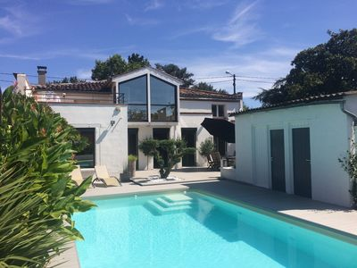 Photo for House in Toulouse with swimming pool and trampoline. Ideal for families.