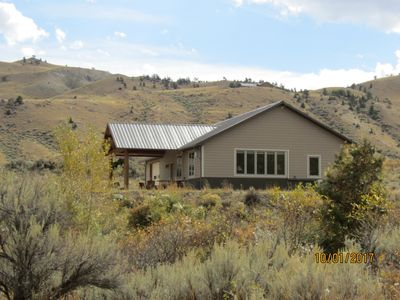 Photo for Beautiful River Front House on the North Fork of Shoshone