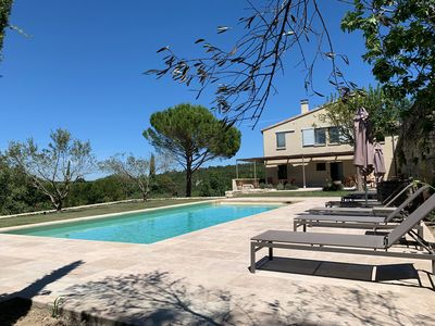 Photo for DOMAINE DE GISFORT with pool for 8 people Fenced park