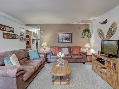 Photo for Low Rates - Centrally Located Condo - Short Walk to Skiing and Main Street
