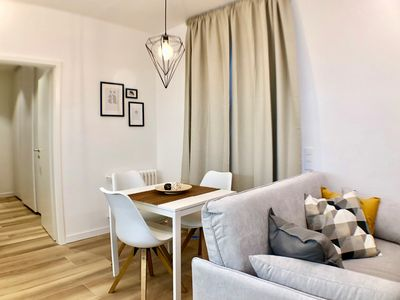 Photo for Two-room apartment in Downtown Lugano convenient from the train station - MINERVA 406