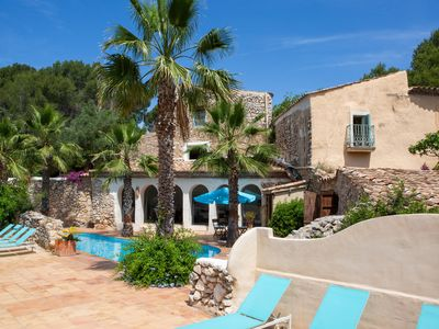Photo for Romantic and authentic Tuscan style Villa in the rolling hills of Sitges