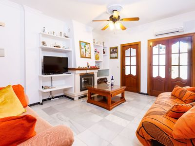 Photo for Lovely apartment for 4 guests with A/C, WIFI and TV