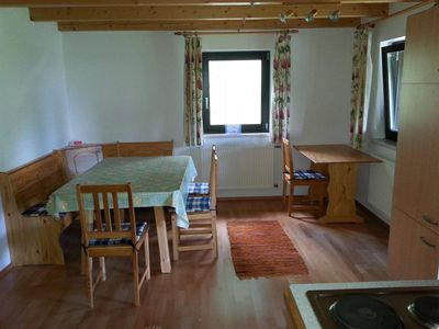 Photo for Apartment No. 2- (5P) / 2bedrooms / bath, WC - Spruce Log Cabin