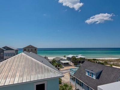 Photo for Luxury Beach Home/Breathtaking Gulf and Dune Views/ Steps to Private Beach Access/Community Pool