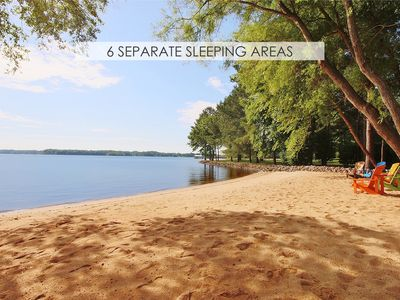 Photo for Lake Norman Breakaway (6 separate sleeping areas)