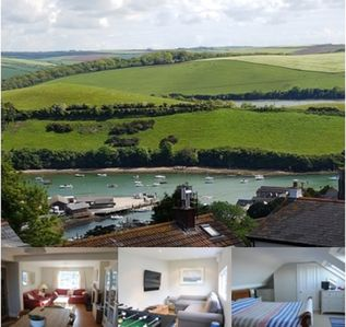 Photo for Salcombe - light & spacious seaside family house. Parking, balcony, large garden
