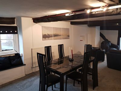 Photo for 14th Century 4 Bed Flat oozing Character