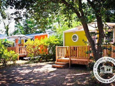 Photo for Camping Club Taxo Les Pins **** - Maeva Camping - Mobil Home Confort 3 Rooms 4/5 People Air-conditioned