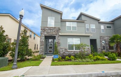 Photo for Disney On Budget - Solara Resort - Welcome To Cozy 4 Beds 4.5 Baths Townhome - 5 Miles To Disney