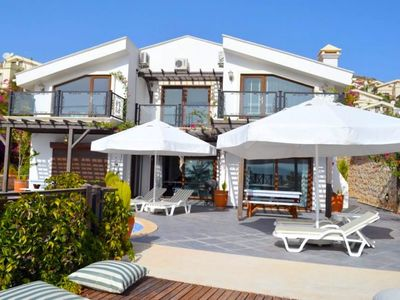 Photo for Villa Kalamar Mare. Modern 3 Bedroom Villa With Private Pool and Sea Views.