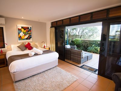 Photo for The Boathouse: a tranquil, luxurious 5 star retreat in central Yamba.