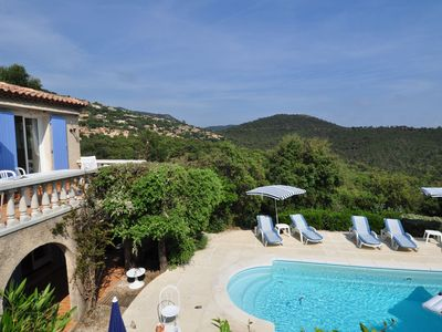 Photo for A tastefully furnished villa with private pool, 8 km from the Mediterranean Sea