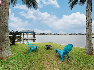 New Listing! Bayfront Home w/ Deck, Covered Patio & Fishing Pier, Near Beach