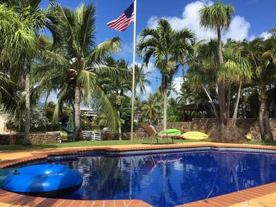 Photo for Kailua Canal-Front Retreat with Pool