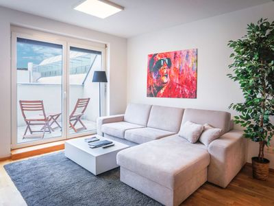 Photo for XL Penthouse Apartment with terrace