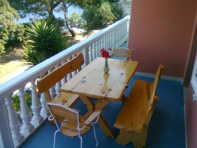 Photo for Cosy, colourful aparment with the breathtaking view of sunset and sea