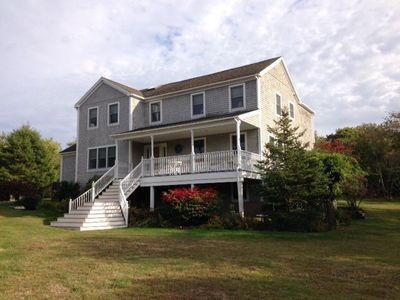 Photo for Dragonfly, Blueberry Hill, Block Island.Accommodates Large Families in Comfort.