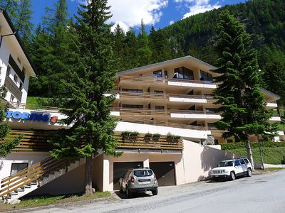 Photo for Apartment in the center of Leukerbad with Lift, Parking, Internet, Washing machine (49697)