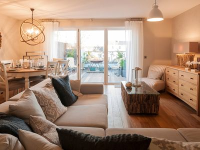Photo for Stylish Central Saundersfoot Townhouse with Terrace and Cinema Room