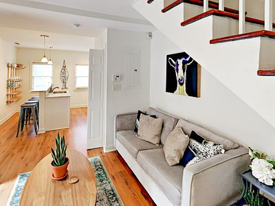 Photo for 2BR Historic Home, 2 Blocks from Upper King St. – Porch, Balcony & Courtyard