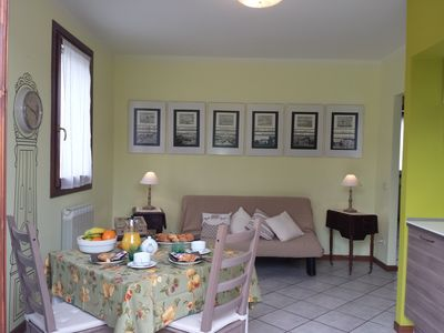 Photo for Romantic apartment very near Venice