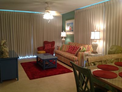 Photo for 3BR/3BA/CORNER/UPDATED/Beachfront/In&Out Pools/Grills/Huge wrap around balcony