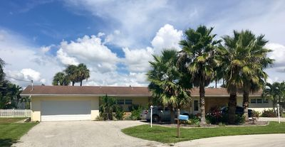 Photo for Tropical Oasis Pool Home on Gulf Access Canal