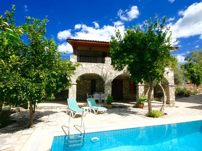 Photo for Unique Restored Stone Villa With Private Pool and Beautiful Mountain Views.