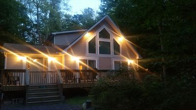 Photo for HOT TUB/ PET FRIENDLY / Beautiful Rental in Quiet Setting in Arrowhead Lakes