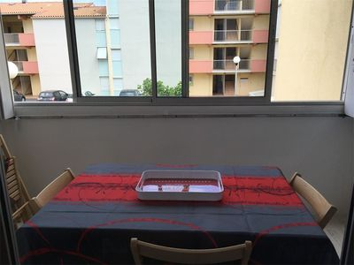 Photo for NARBONNE-PLAGE : nice 1-bedroom flat