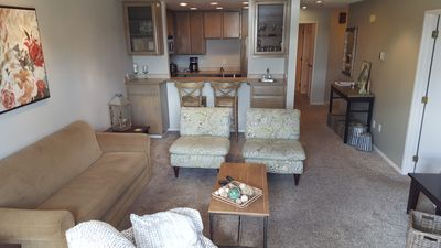Photo for 2 Bed/Bath Condo: Ideal Location For Ironman, Beach, CDA Lake/Resort & Fireworks