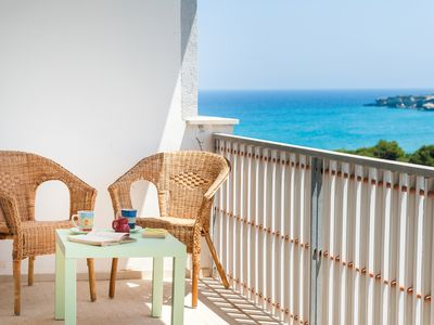 Photo for Holiday flat close to the beach - Lefons
