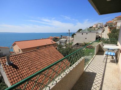 Photo for Three bedroom apartment with balcony and sea view Suhi Potok (Omiš)