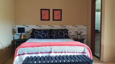 Photo for BEAUTIFUL AND CONVENIENT PEACH APARTMENT FOR ATE 04 PEOPLE.