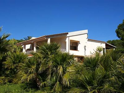 Photo for Villa Bianca - Beautiful villa with pool and sea views. Close to the beach!
