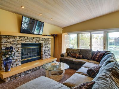 Photo for High-end waterfront home, with private hot tub & dock. Shared pool access!