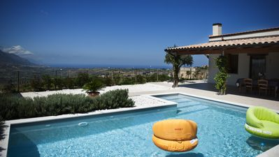 Photo for villa in the hills with swimming pool