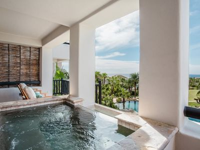 Photo for Jacuzzi Villa w/ Free WiFi, Ocean Views, Spa Services & Tennis Courts