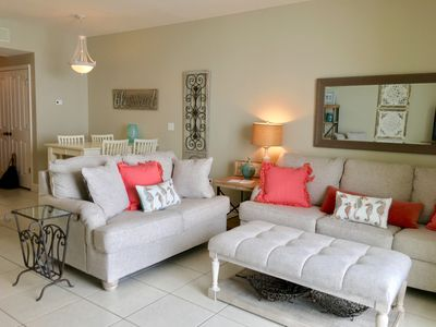 Photo for Just Minutes from Pier Park! Directly on the Gulf~ Beach Chair Service Included!