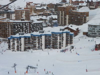 Photo for Val Thorens 28 m² with cabin Olympic 4 persons with direct access to the slopes