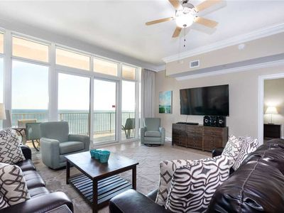 Photo for Gulf Front | Large Balcony | Beautiful View | Liquid Life Rentals