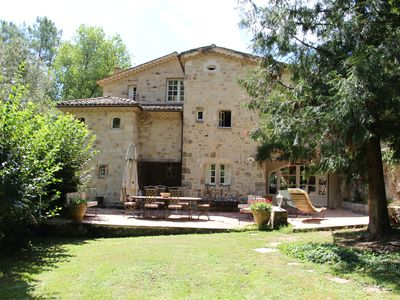 Photo for BEAUTIFUL AND LARGE HOUSE, SOUTH ARDECHE, NATURAL PARK WITHOUT NEIGHBORHOOD, QUIET