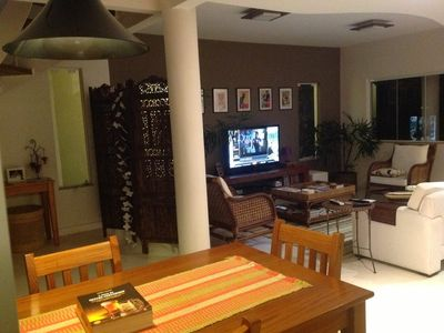 Photo for Modern house, 4 suites, on Itacoatiara Beach, 40 minutes from Rio de Jane