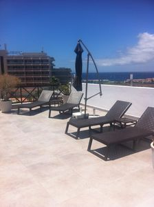 The large terrace (sea and marina view)