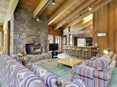 Photo for 2 Miles from Alpine Meadows! 5 Miles from Tahoe City. 5 miles to Squaw! Entertainment Room for the Kids and Amazing Forest Views. Free Daily Activities!
