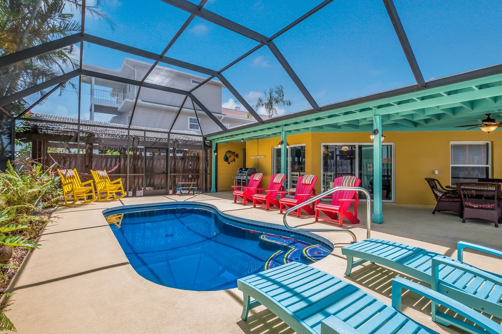 Hurrican House Awesome Home with Heated Pool and Steps to the Beach! & Hurrican House: Awesome Home with Heated Pool and Steps to the ...