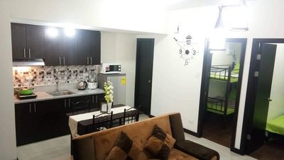 Photo for Cozy home in the heart of Makati (2 BR in SLP)