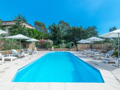 Photo for Luxurious Villa with pool, billiard, table tennis... peaceful with stunning view