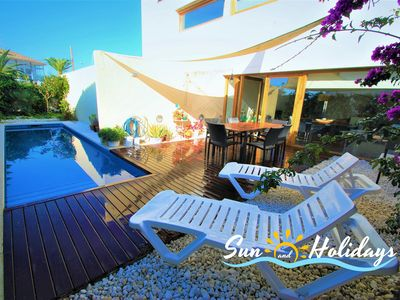 Photo for Xipres townhouse for 8 people with private pool